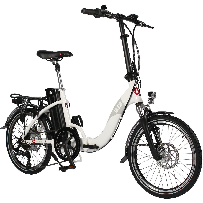 Asviva B13 Klapprad E-Bike weiß