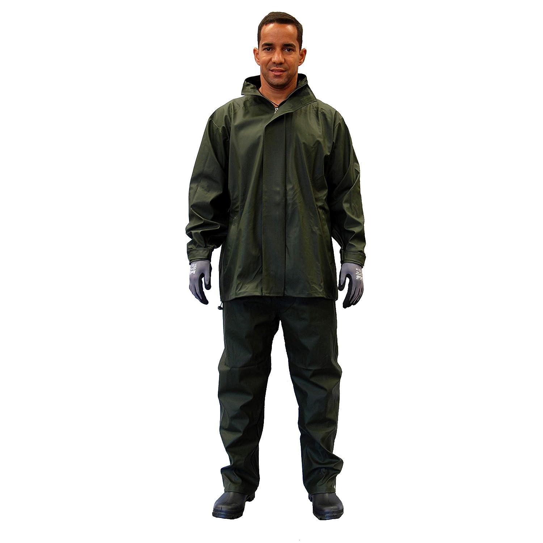 Gahibre 429 Conjunto lluvia chaqueta//pantal/ón poliuretano extra resistente
