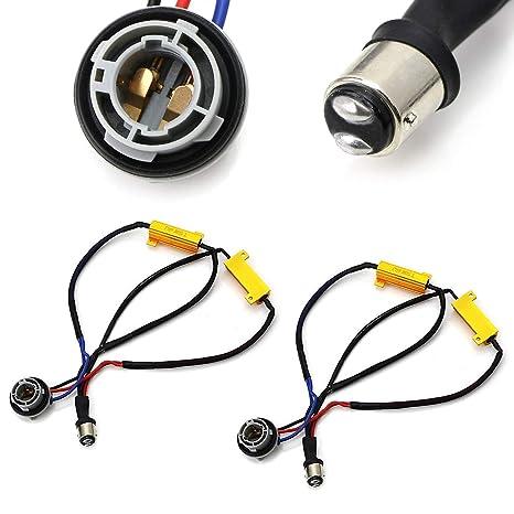 Super Amazon Com Ijdmtoy 2 Hyper Flash Bulb Out Error Fix Wiring Wiring 101 Mecadwellnesstrialsorg