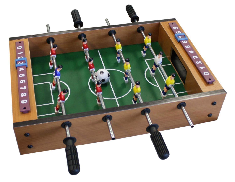 Idena 6170001 - Mini futbolín (incluye 2 bolas y 12 jugadores, 34 x 32 cm aprox., 2 jugadores) circa 34 x 32 cm