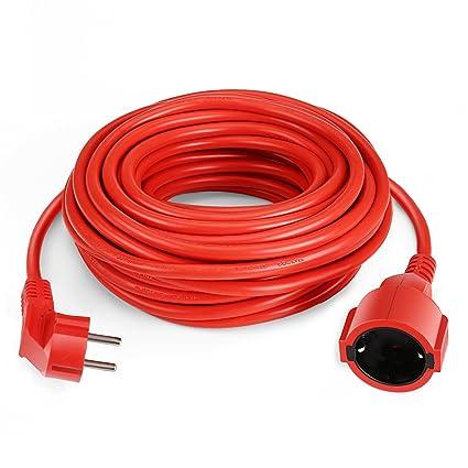 SIMBR Cable alargador de corriente IP20 H05VV Alargador cable de ...