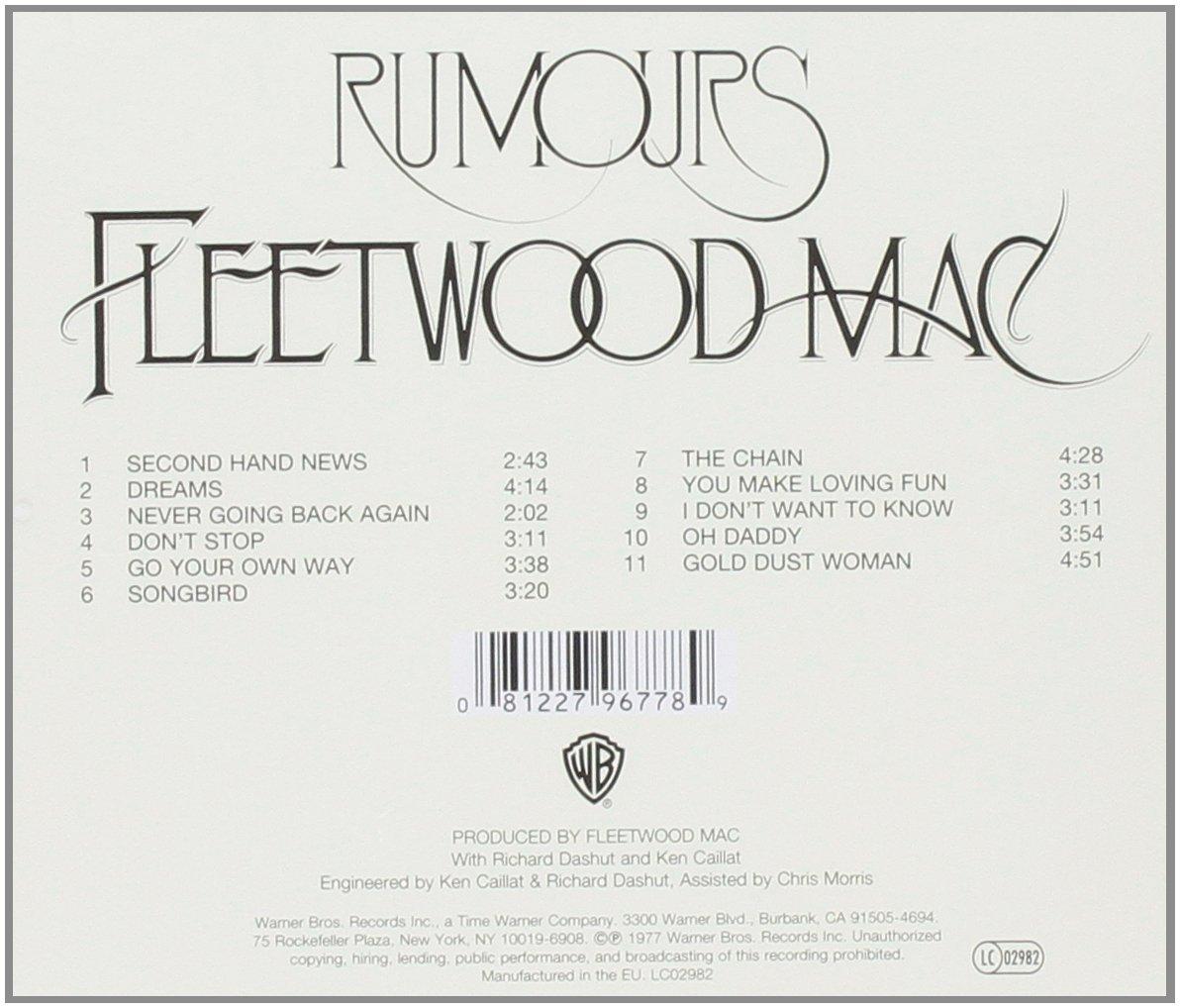Fleetwood mac rumours amazon music hexwebz Images