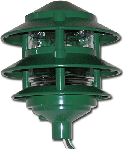 Made in USA Weatherproof Path Light – Green