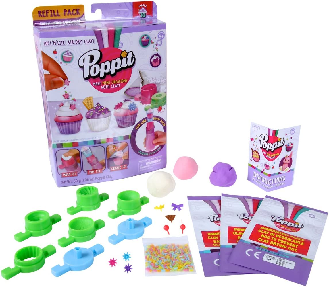 Poppit Season 1 Refill Pack - Mini Cupcakes