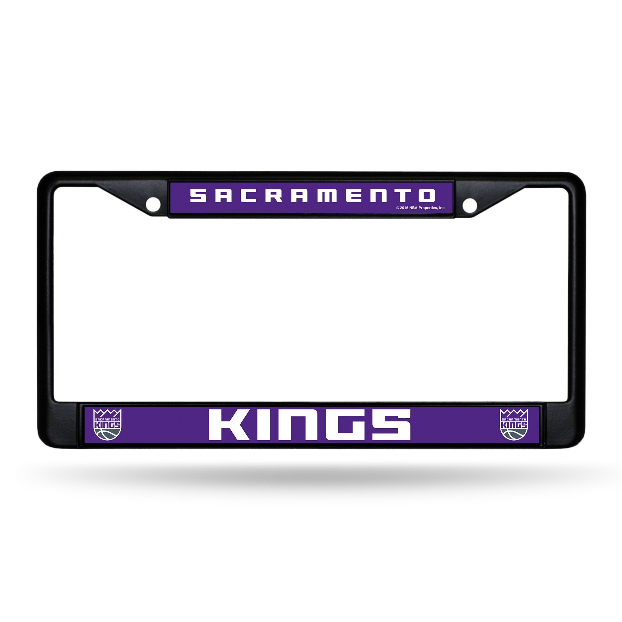 NBA Sacramento Kings Chrome Plate Frame, Black
