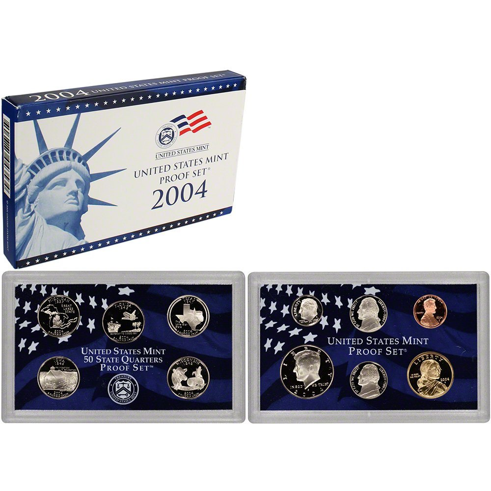 2004 S US Proof Set Superb Gem Uncirculated 71HtmQgPX2BL