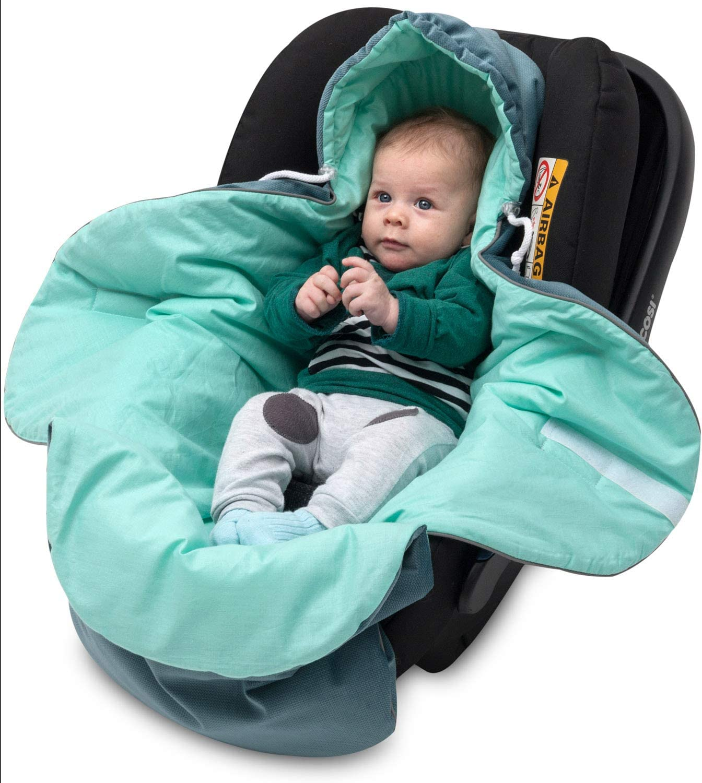 wrap velvet, minky, wafel Car seat blanket