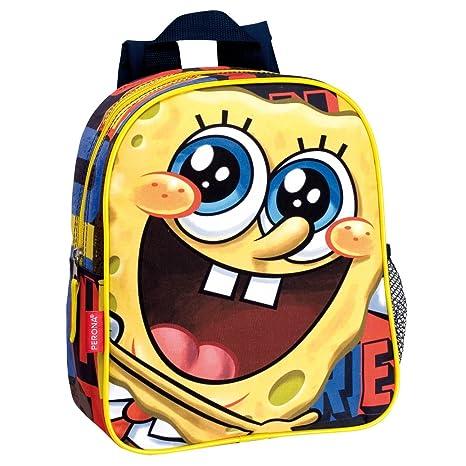 SpongeBob Squarepants Bob Esponja - Mochila junior, 28 cm (amarillo)