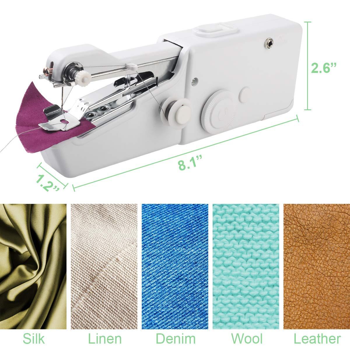 Handheld Sewing Machine and Threads Kit