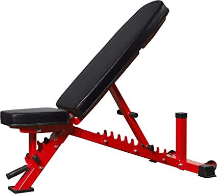 Amazon.com : Rep Adjustable Bench, AB-3100 V3 – 1, 000 lb Rated (Red) : Sports & Outdoors