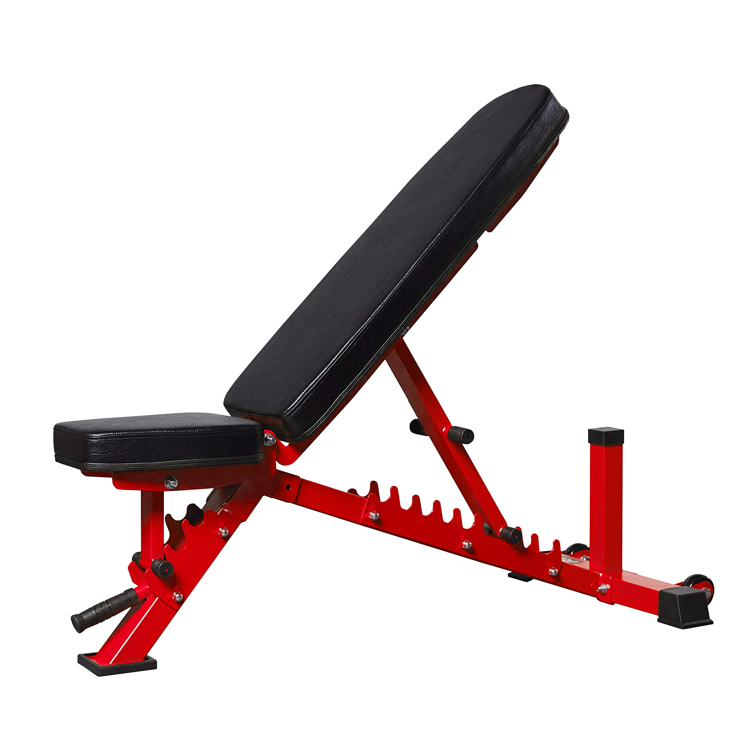 Rep Adjustable Bench, AB-3100 V3 – 1,000 lb Rated (Red)