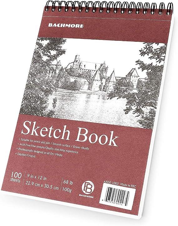 Art Paper Sketchbooks & Notebooks UCreate Premium Sketch Book ...