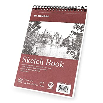 """Bachmore Sketchpad 9"""" x 12"""