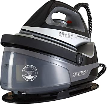 Tower Steam Generator Iron - Non-Stick Ceramic Soleplate