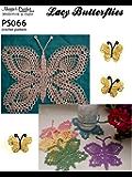 Crochet Pattern Lacy Butterflies PS066-R