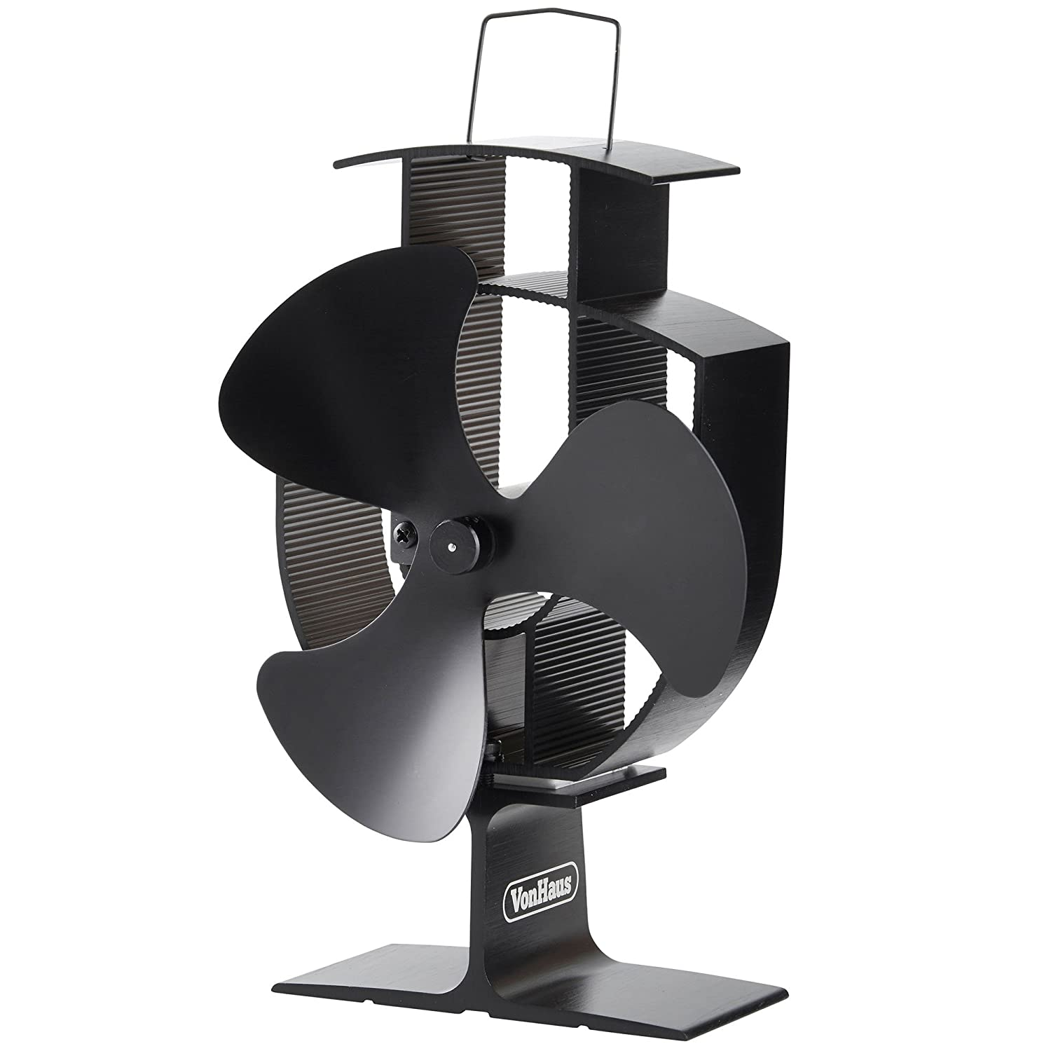 Amazon.com: VonHaus Wood Stove Eco Fan - Heat Powered Ultra Quiet Triple  Blade Fireplace Blower Fan for Efficient Heat Distribution - Black: Home &  Kitchen - Amazon.com: VonHaus Wood Stove Eco Fan - Heat Powered Ultra Quiet