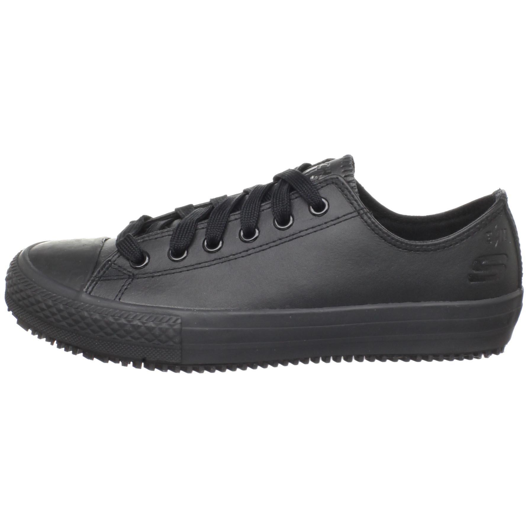 Skechers for Work Women's Gibson-Hardwood Slip-Resistant Sneaker, Black, 8 M US by Skechers (Image #5)