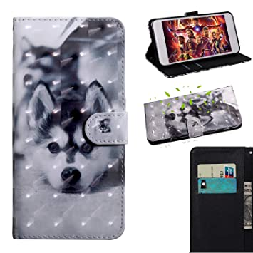 Xiaomi Redmi Note 8 Funda, Patrón 3D Silicona Billetera Case ...