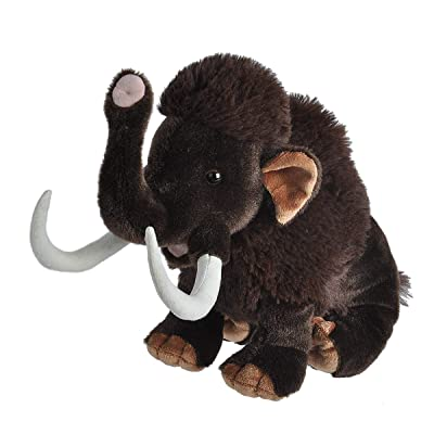 "Wild Republic Woolly Mammoth Plush, Stuffed Animal, Plush Toy, Gifts for Kids, Cuddlekins 12"": Toys & Games"