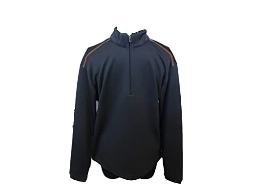 Amazon.com: Pebble Beach - Chaqueta de golf con cremallera ...