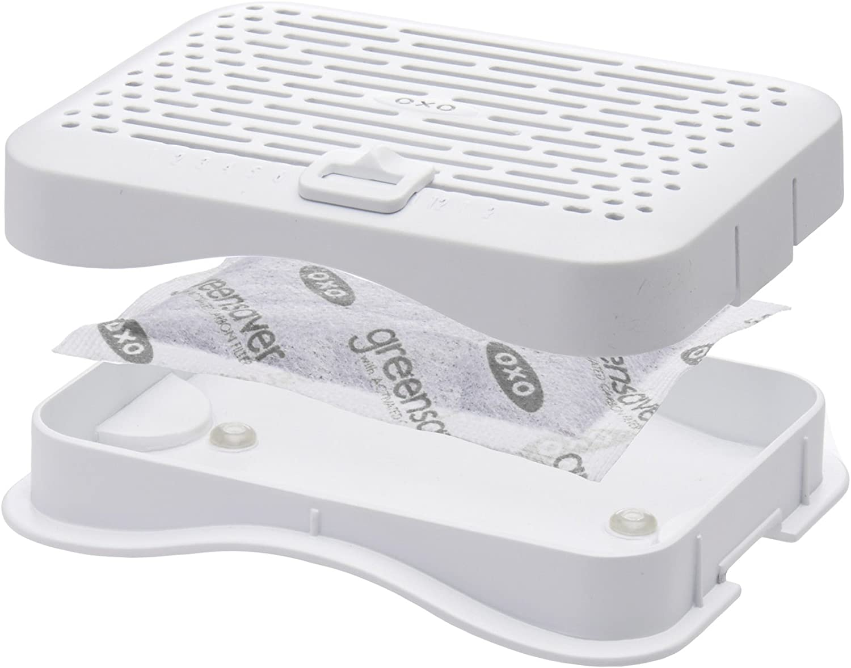 OXO Good Grips Greensaver Filtrar Caja c//Adhesivo