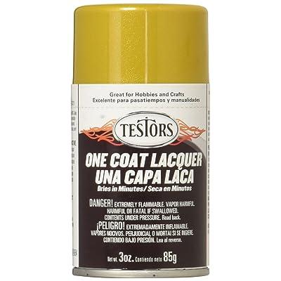 Testors Aerosol Lacquer Paint, 3-Ounce, Inca Gold: Arts, Crafts & Sewing