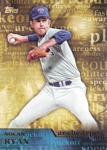2015 Topps Baseball Archetypes #A-14 Nolan Ryan Texas Rangers at