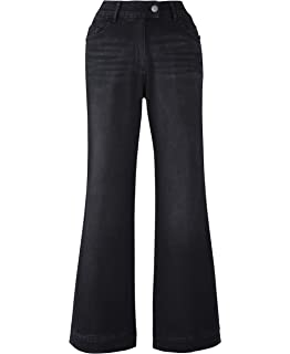80f4393085 JD Williams Womens Simply Be Denim Pixie Wide Leg Jeans Indigo, 14 ...