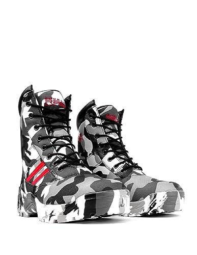 Double Red Damen-Offroad Schuhe B&W Camodresscode Tarnmuster Neu nwriwG