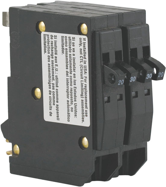 Tandem Plug In Circuit Breaker 1P 20 30 Amp 120 240VAC