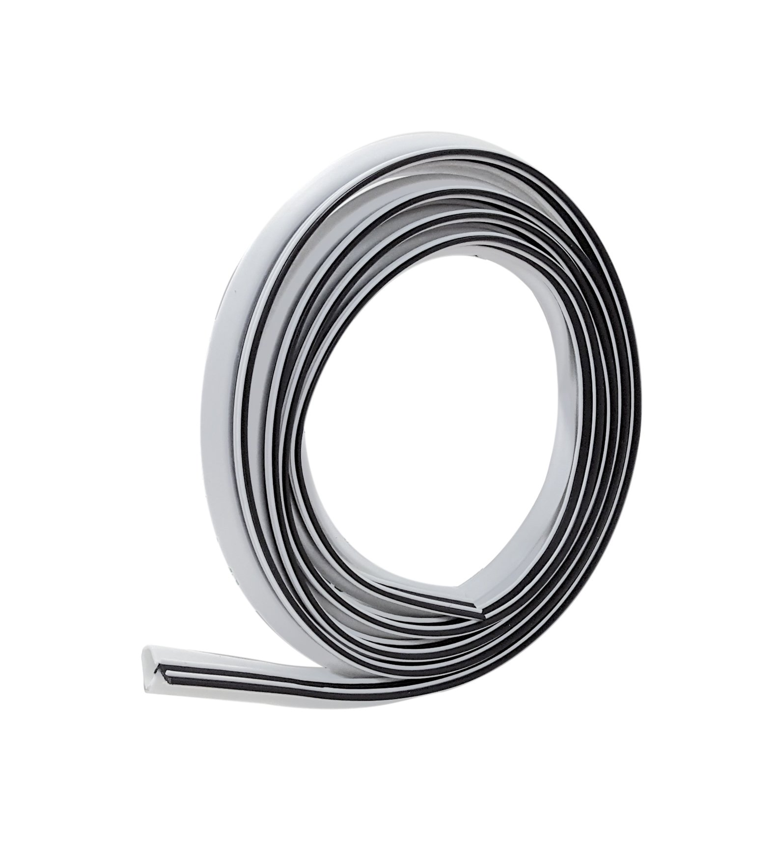 Frost King ES184W Weatherseal Replacement, 3/4In Wide x 5/8In Thick x 84In Long, White