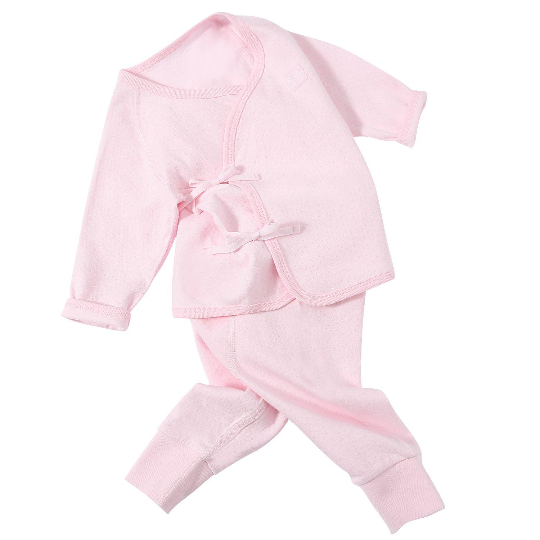 bahokids Kub Pure Color Baby Body para niño pijamas pijama rosa rosa Talla:1-3m: Amazon.es: Bebé