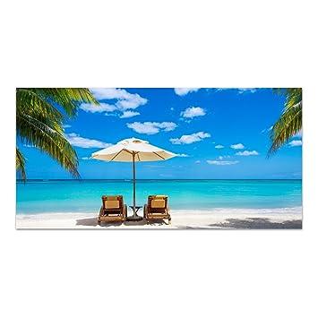 einteilig 125x50 cm DekoGlas Glasbild Abstrakt Acrylglas Bild K/üche Wandbild Flur Bilder Wohnzimmer Wanddeko