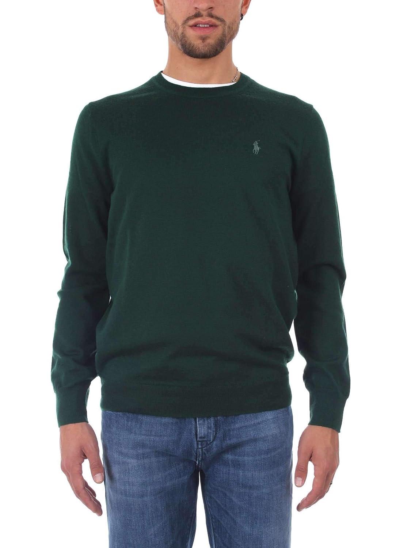 Polo Ralph Lauren Maglia in Lana Merino aderente  Herren Mod. 710714346