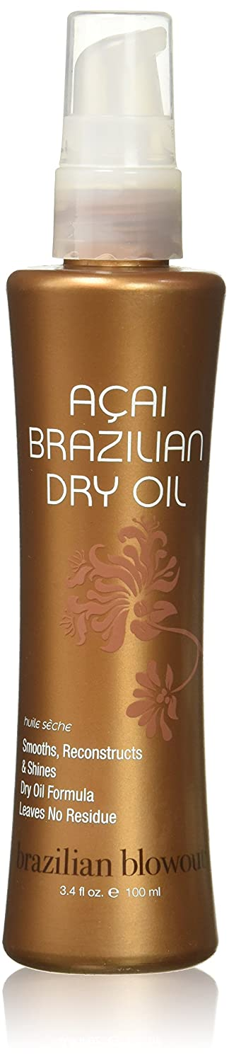 Acai Brazilian Dry Oil by Brazilian Blowout for Unisex - 3.4 oz Oil