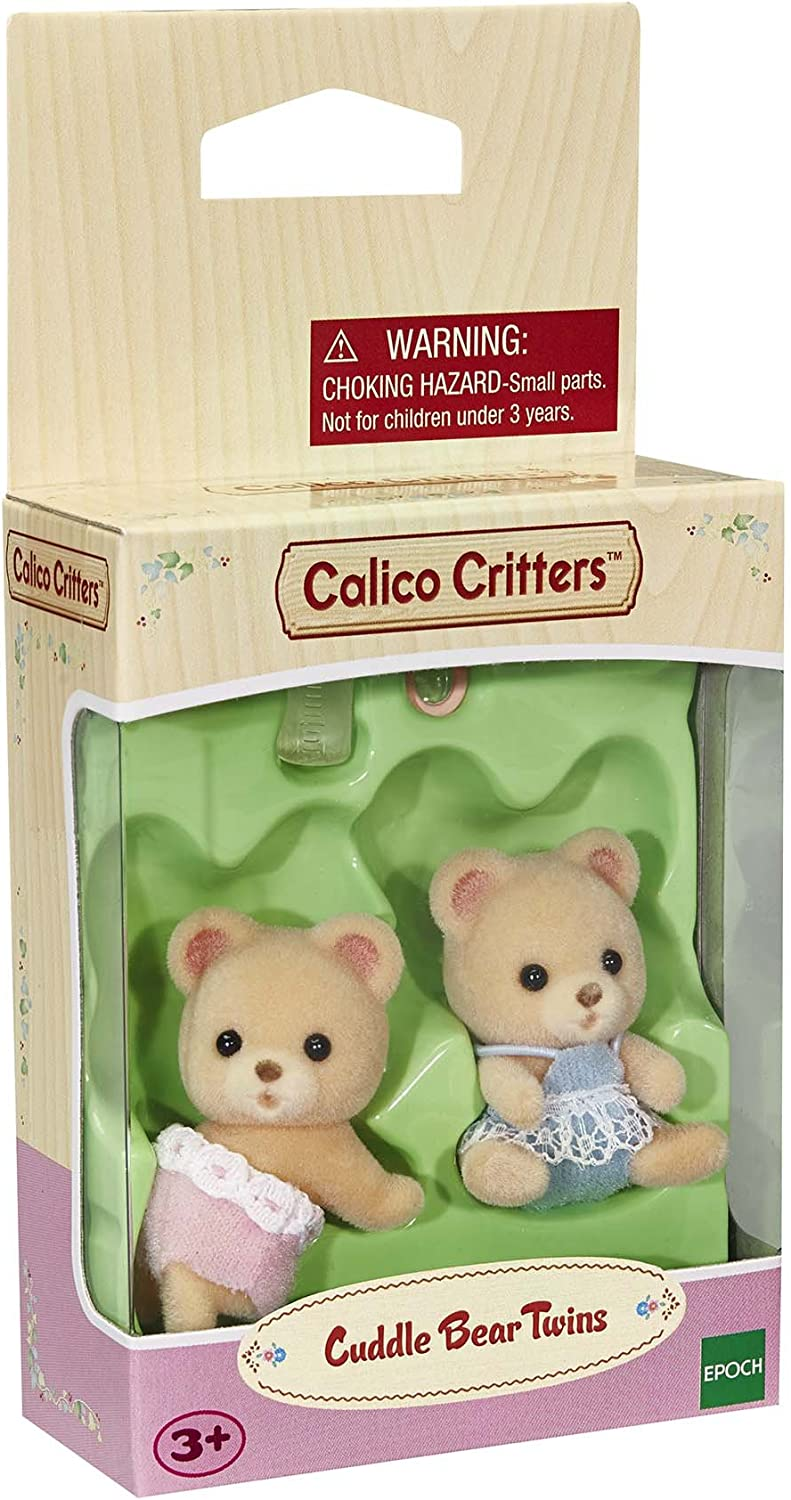 New in Box Calico Critters Sandy Cat Twins CC1407