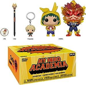 POP: Animation : My Hero Academia Box gamestop Exclusive! Endeavor and Deku Onesie Vinyl Figurine