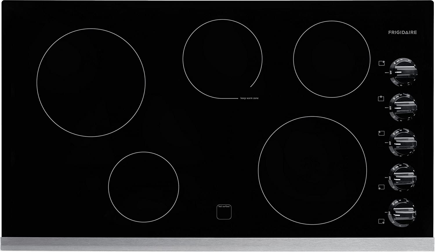 Frigidaire FFEC3624PS - 36 inch Electric Cooktop in Stainless Steel