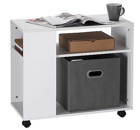 Orolay Mesa para el café con Ruedas en diseño Moderno con repisa ...