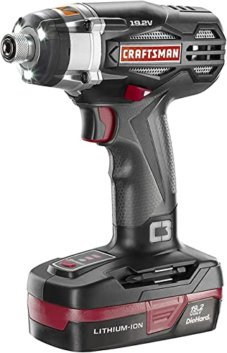 Craftsman C3 Lithium-Ion 3-Speed Impact Driver Kit