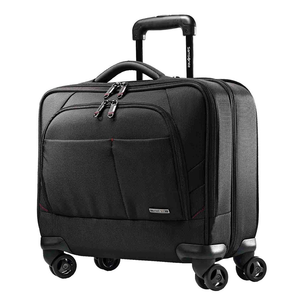 Samsonite Xenon 2 Spinner Mobile Office Business Case in Black