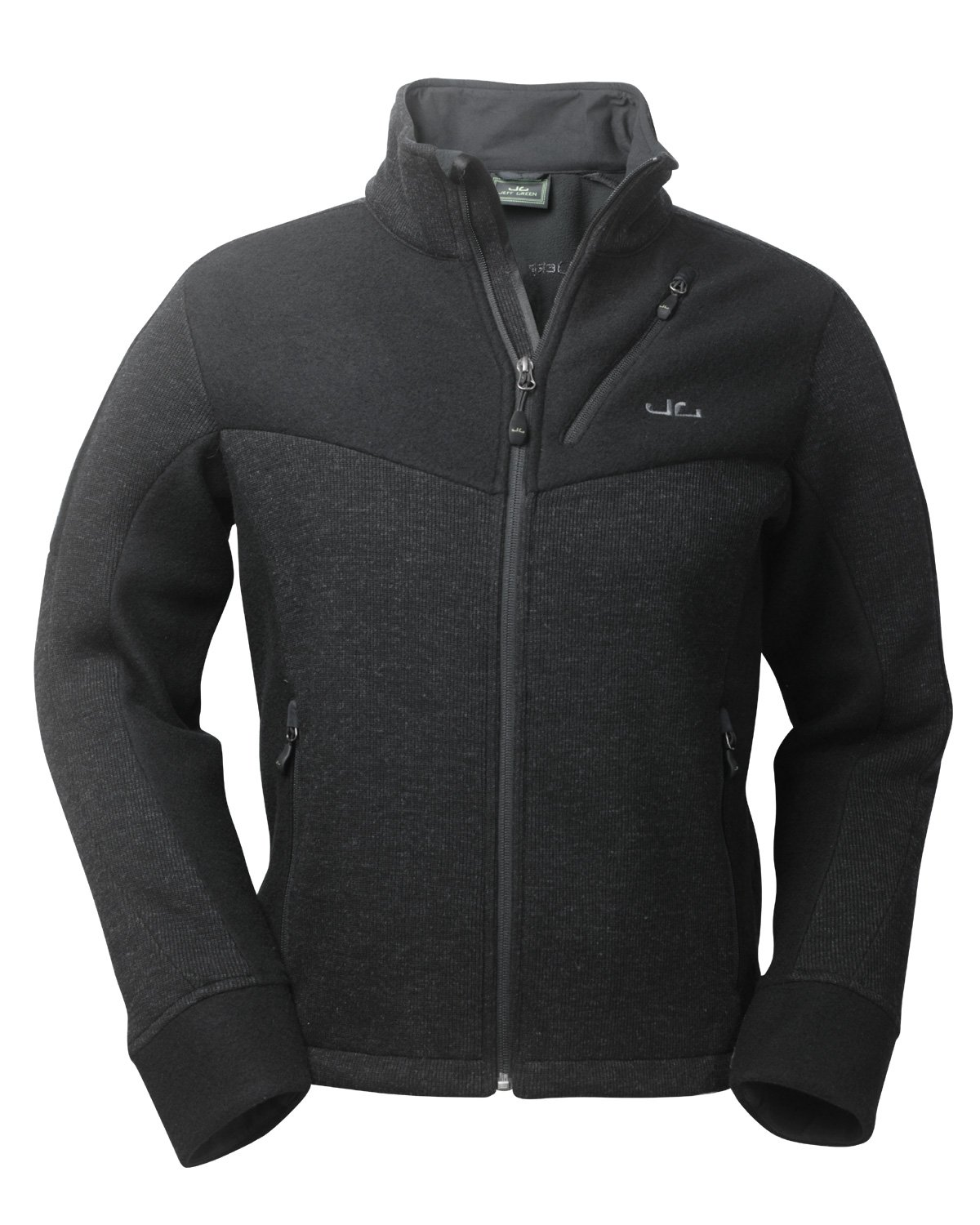 Jeff Green Herren Fleecejacke Galway, Black, 48, 1560-BL