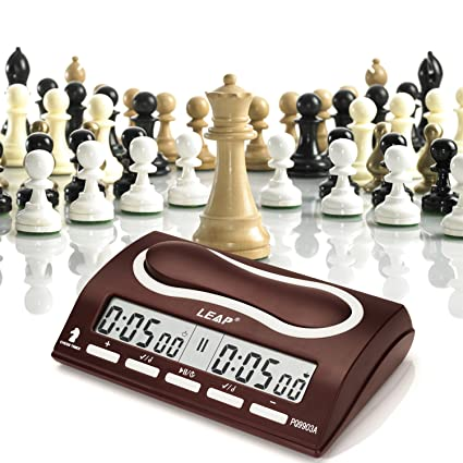 CFtrum Multifuncional Profesional Digital Reloj de Ajedrez, Contador de Tiempo / Temporizador de Cuenta Atrás