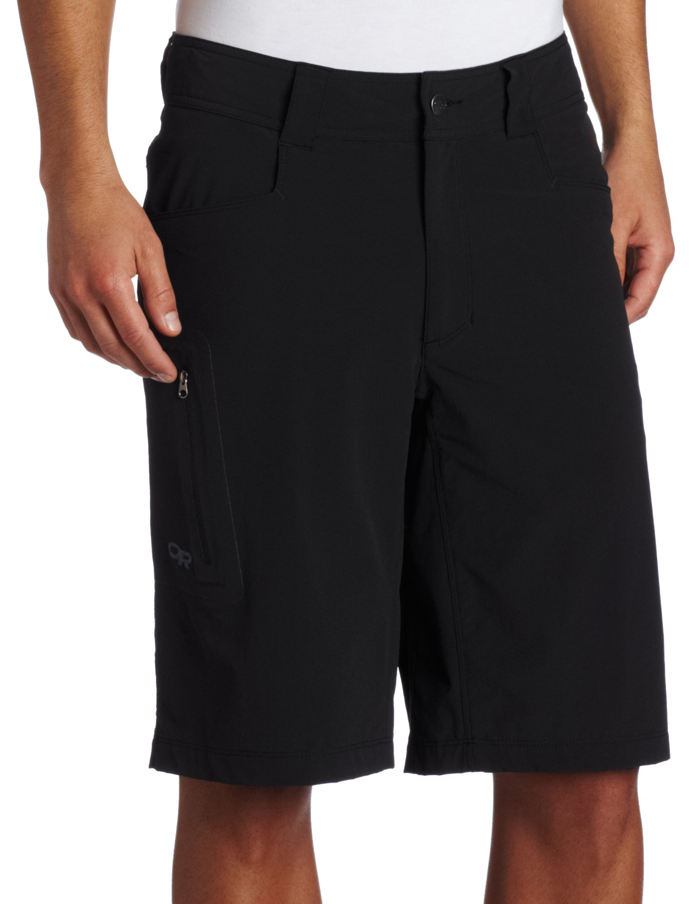 "Outdoor Research Men's Ferrosi 12"" Shorts, Black, 30"