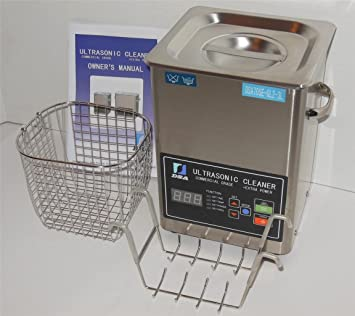Amazon.com: Limpiador ultrasónico (3L) con Dual Control de ...