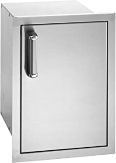 product image for Fire Magic Premium Flush 14-inch Right-hinged Enclosed Cabinet Storage With Drawers With Soft Close - 53820sc-r
