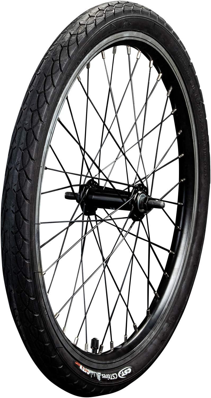 Z/ündapp Vorderrad Klapprad 20 Zoll Z101 ohne Dynamo Komplettrad E-Bike Laufrad