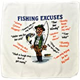 Fishing Excuses Microfibre Cleaning Cloth – Perfect for wiping down Rods and Tackle – Makes an Ideal Gift