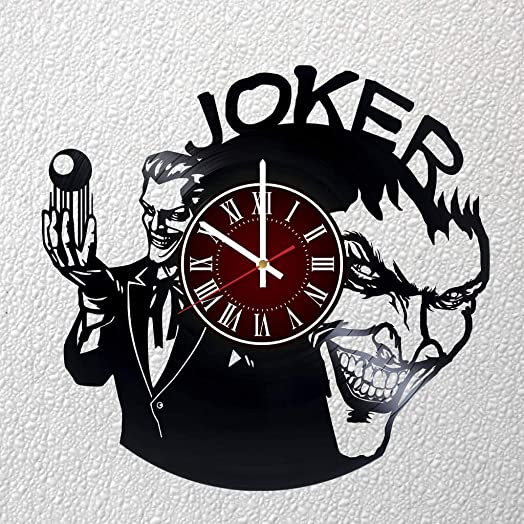 JOKER 12 inches / 30 cm Vinyl Record Wall Clock