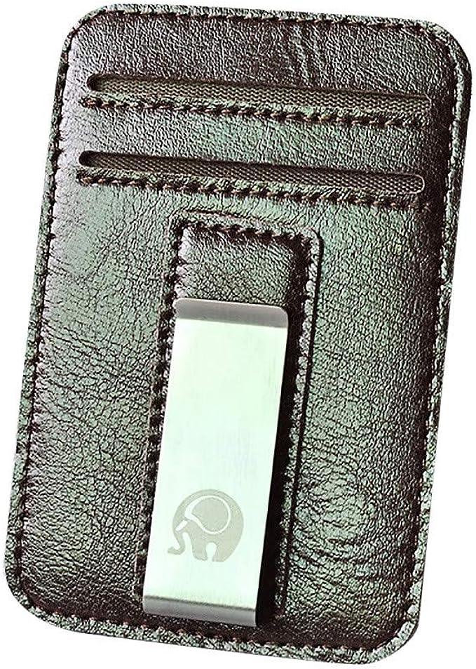 Amazon.com: Honestyivan - Mini cartera de piel con gancho ...